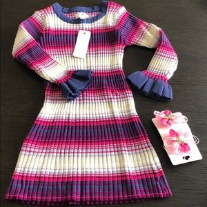Gymboree Striped Dress 12-18 Months Nwt Msrp$40